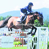 Amanda Derbyshire clears a jump at the Lake Placid Horse Show on Friday to place first.<br><br>(P-R Photo/Jack LaDuke)