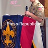 Eagle Scout Nathan Tuller, 16, of Troop 8049 in Peru spoke about his experiences in the Boy Scouts at the annual Friends of Scouting breakfast held at the American Legion Post   20 in Plattsburgh Monday.<br><br>(Staff Photo/Kelli Catana)