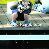 Noah Terry, 3, watches his line  hopefully as he fishes Thursday at the Plattsburgh Boat Basin. The tot tried angling under the watchful eye of his friend   Robert Poirier (not shown).<br><br>(P-R Photo/Rob Fountain)