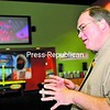 Cumberland 12 Owner Dale Chapman shows some of the upgrades at the movie theater in Plattsburgh.<br><br>(Staff Photo/Kelli Catana)
