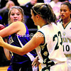 ticonderoga's Andrea rich (left) attempts to keep the ball from Elizabethtown-Lewis' Shonna Brooks during the championship game of the Alzheimer's Awareness basketball tournament Wednesday. The Lions defeated the Sentinels, 45-22.<br><br>(P-R Photo/Alvin Reiner)