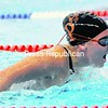 Marina Caramia of Plattsurgh High School competes in the 300 butterfly relay Thursday at the CVAC Relay Carnvial at AuSable Valley. The Hornets won that relay and seven others to claim the meet. <br><br>(P-R PHOTO/ROB FOUNTAIN )