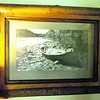 Jillian Post did this graphite drawing of the first guideboat her father built. Her parents created this frame from maple, alder, willow stick and walnut.<br><br>(Staff Photos/Robin Caudell)