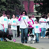 About 1,200 people participate in the annual Autism Awareness Walk at the PARC Oval Saturday morning to raise awareness and funds for individuals and their families coping with the disorder. The event, sponsored by the Autism Alliance of Northeastern New York, is in its ninth year. The walk also featured bake sales, children's games and activities, raffles and more. <br><br>(P-R PHOTO/GABE DICKENS)