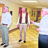 Mountain Lake Services Executive Director Martin Nephew (right) shows Moriah Supervisor Thomas Scozzafava (left) and Schroon Supervisor Michael Marnell around the human-services agency's Port Henry headquarters recently. Mountain Lake Services is now the largest private employer in Essex County.<br><br>(P-R PHOTO/LOHR McKINSTRY)