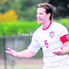 Matt Hamilton is seen during a Plattsburgh State men's soccer game last year. Hamilton will be a key part of the offense for the Cardinals, who begin their season today against Rutgers-Newark in the Potsdam Collegiate Village Cup.<br><br>(File Photo)