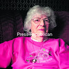 Dorothy LeClair in her Morrisonville home.<br><br>(STAFF PHOTO/ROB FOUNTAIN)