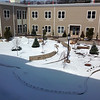 The courtyard at the Alice Center, the new nursing home and assisted-living facility in Malone. Tours will be offered on Saturday.<br><br>(DENISE RAYMO/P-R STAFF PHOTO)