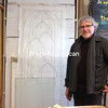 Gallerist/artist Michael Hart moved his Pouring Lights Studios and Gallery downstairs at 232 Main St. in Malone.<br><br>(DENISE A. RAYMO/STAFF PHOTO)