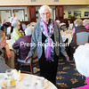 Lake Forest Senior Living resident Betty Gregory shows off the latest spring styles in clothing during the Spring Tea and Fashion Show.<br><br>(ROB FOUNTAIN/STAFF PHOTO)