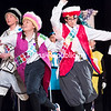 """Chazy Central Rural School students perform in the Drama Club's rendition of """"Cinderella and the Candy Kingdom."""" The recent show featured a large and young cast, with many of the actors making several costume changes throughout the show, which had four different sets. (GABE DICKENS/P-R PHOTO)"""