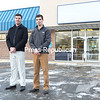 Brothers Geoff (left) and Ryan Garrand will be opening Garrand Motorsports in the former Kinney Drugs store at 52 Boynton Ave. by mid-February. The business will include recreational-vehicle sales and service, parts, accessories and clothing<br><br>(GABE DICKENS/P-R PHOTO)