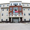 Campus Suites, a high-profile student-housing property in the City of Plattsburgh built by United Group of Companies, has been foreclosed on by its lender, Stabilis Fund II LLC. United Group also owes the city, Clinton County and Plattsburgh City School District a total of nearly $1 million in back taxes from 2013 forward.<br><br>(ROB FOUNTAIN/STAFF PHOTO)