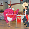 Brother and sister team Rosangel and Angel Conde perform at the second-annual International Peruvian Festival in Peru. Events included a Mass at St. Augustine's Church; raising of the Peruvian and American flags; welcoming government representatives from the Republic of Peru, South America; Peruvian dances; and refreshments. (JOANNE KENNEDY/P-R PHOTO)