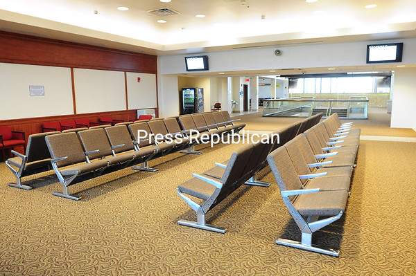 The former conference room has now become a seating area for passengers waiting for flights. That allowed additional seating even before completion of the expansion.<br><br>(ROB FOUNTAIN/STAFF PHOTO)