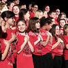 """GABE DICKENS/P-R PHOTO 12-21-2016<br /> The Apple Crate Chorus, which comprises Peru Central School students in grades four through six, performs """"Kwanzaa Celebration,"""" composed by Roger Emerson, during the school's Winter Concert Thursday evening in the High School auditorium. Also performing were the mezzo orchestra, seventh- and eighth-grade chorus and the concert band."""