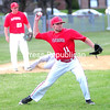 ROB FOUNTAIN/STAFF PHOTO  4-26-2016<br /> Plattsburgh pitcher Matt Fox field a bunt Wednesday during a men's baseball against Norwich University at Lefty Wilson Field in Plattsburgh.