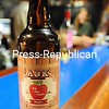 ADK Hard Cider Double Tap Maple, produced with local apples and maple syrup, won Best of Show in a major New England competition. <br /> <br /> ROB FOUNTAIN/STAFF PHOTO  7-3-2016