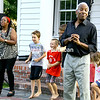 ALVIN REINER/P-R PHOTO 7-28-2016<br /> Kim and Reggie Harris perform with impromptu backup dancers on the lawn of the Elizabethtown Social Center during a recent concert. A variety of events, including bluegrass, jazz, gospel, rock music and Shakespeare are featured throughout the North Country. Check the Press-Republican's Sights and Sounds calendar on Thursdays and the Community Calendar on Fridays for information about family-oriented offerings.