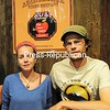 Erin Frey and Brian Frey of Elfs Farm Winery & Ciderhouse pose in the tasting room at the Plattsburgh business. One of their hard ciders recently won Best of Show and a gold medal in Springfield, Mass. <br /> <br /> ROB FOUNTAIN/STAFF PHOTO  7-3-2016