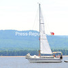 ROB FOUNTAIN/STAFF PHOTO 7-24-2016<br /> Sailors get their sails ready on the Anjin San II to tackle the open waters of Lake Champlain near Valcour Island on Sunday.