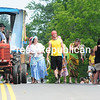 ROB FOUNTAIN/STAFF PHOTOS 6-27-2016<br /> A band of Gypsies travels down Devil's Den Road Sunday during the Old Home Days parade in Altona. The annual celebration included Mass at Holy Angels Church, a chicken barbecue, live entertainment, games and more.