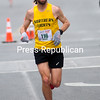 ROB FOUNTAIN/STAFF PHOTOS<br /> Jeremy Drowne of West Chazy was the overall winner Sunday for the 7th Annual Plattsburgh Half Marathon. Drowne finished with a time of 1:14:26.