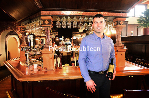 ROB FOUNTAIN/STAFF PHOTO 11-30-2016 Enzo Beskovic has opened Enzo's in the former Geoffrey's Pub space in Plattsburgh. Beskovic, who also owns and operates Domenic's restaurant, is also head chef and specializes in Italian cuisine from the northern, southern and Tuscan regions.
