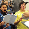 """Members of the Champlain Valley Voices rehearse for """"The Magic of Christmas.""""<br /> <br /> ROB FOUNTAIN/STAFF PHOTO 12-1-2016"""