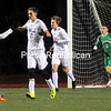 ROB FOUNTAIN/STAFF PHOTO 10-27-2016<br /> The Lake Placid boy's soccer team celebrate one of their first half goals against Seton Catholic Wednesday during Boy's Soccer Section VII Class C Championship at Plattsburgh High.