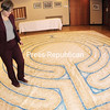 ROB FOUNTAIN/STAFF PHOTO 10-7-2016<br /> Temple Beth Israel Rabbi Dr. Kari Tuling will introduce this labyrinth as a meditative and healing tool to her congregants on Yom Kippur.