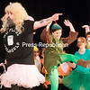 """GABE DICKENS/ P-R PHOTO<br /> The Tooth Fairy, played by Merritt Billiter, makes a cameo appearance among more traditional fairy tale characters during the closing number, """"Freak Flag,"""" from """"Shrek the Musical"""" at Chazy Central Rural School. The performance was part of Chazy Music Theatre's recent show, """"Parents Just Don't Understand: A Revue,"""" which featured an original compilation of various songs and scenes from nearly two dozen musicals."""