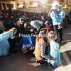 """ROB FOUNTAIN/ STAFF PHOTOS<br /> Many little princesses get ready to sing along with Elsa and Anna in Disney film """"Frozen"""" at the Strand Theatre. The fun also included special props at different points in the movie, including crowns and glow sticks."""