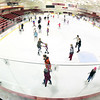 ROB FOUNTAIN/STAFF PHOTO 1-11-2017<br /> Skaters make their way around the rink at the Ronald B. Stafford Ice Area during Open Skate at the SUNY Plattsburgh Field House. People of all ages took advantage of the activity at the recent session, escaping Arctic-like temperatures outside.