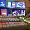 The control room at Mountain Lake PBS in Plattsburgh. The equipment is a significant upgrade from what was in use in the studio's early days.<br /> KAYLA BREEN/STAFF PHOTO