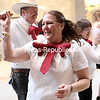 GABE DICKENS/ P-R PHOTO<br /> Bruce and Sue Stallings perform with fellow members of the line dance group Stomping For a Cause during the recent Relay For Life Kick-Off event at Champlain Centre mall in Plattsburgh. The group is just one of several slated to perform during the 20th-annual Relay For Life on Saturday, June 17, at the Clinton County Fairgrounds in Morrisonville. Volunteers are needed for a number of committees associated with the event, including those related to survivors, luminarias, entertainment, clean-up and tear-down. If interested, contact Joan Sterling at the American Cancer Society at 441-1818 or by email at joan.sterling@cancer.org.