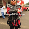 JACK LADUKE/ P-R PHOTOS<br /> Brandon Norcross of Malone showed up at the Comic Con wearing a well-crafted medieval costume.
