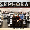 KAYLA BREEN/ STAFF PHOTO<br /> Sephora Inside JCPenney Beauty Manager Terran Mousseau, Operations Consultant Erin Trombley and JCPenney General Manager Kyle Siskavich invite the public to the grand opening of their new store at Champlain Centre mall in Plattsburgh, set for 8:45 a.m. Friday, May 5. The 1,700-square-foot store-within-a-store, with eight new employees, provides about 50 brandname cosmetics, skincare, beauty and hair-care products.