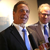 Gov. Andrew Cuomo was in Plattsburgh Tuesday to discuss the future impact of Norsk Titanium.<br /> KAYLA BREEN/ STAFF PHOTO