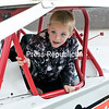 During a visit to the Champlain Valley Transportation Museum in Plattsburgh, Anthony Reynolds-Corrie, 7, from Lewis, explores the interior of a DIRTcar Modified vehicle. As fun as that was, the highlight of the day was finding out that his desire to attend a Formula 1 race was being granted by Make-A-Wish Northeast New York.<br /> GABE DICKENS/P-R PHOTO