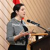 Congresswoman Elise Stefanik speaks to members of the Plattsburgh Rotary Club during a weekly meeting in the Butcher Block's Adirondack Room. That day, she touched on topics including manufacturing, rural broadband and school safety. In a recent interview with the Watertown Daily Times, she also discussed issues of concern, including the recent meeting between China and North Korea. The shadowy nature of the meeting between the two leaders raises red flags, she said.<br /> KAYLA BREEN/ Staff photo
