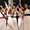 "Members of the Adirondack Regional Theatre rehearse a scene in the musical ""Xanadu Jr."", directed by Mason Barber, in the Peru Central High School auditorium Thursday evening. The project is made possible through funding by the Decentralization Program, a regrant program of the New York State Council on the Arts, which is administered by the Adirondack Lakes Center of the Arts. Performances takes place at 6:30 p.m. Saturday, July 14, in the Peru High School auditorium and 2 p.m. Sunday, July 15, at the Strand Theatre in Plattsburgh. Tickets are $10 at the door.<br /> GABE DICKENS/ P-R photo"