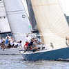 Skipper John Touron of Shelburne, Vermont, and his crew aboard Dunder took home the Mayor's Cup in the 41st annual Mayor's Cup Regatta Saturday on Lake Champlain.<br /> GABE DICKENS/ P-R PHOTO
