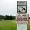 Beekmantown Town councilors are considering banning dogs from the town park on Spellman Road. The matter is expected to come up at Tuesday's Town Board meeting.<br><br>(BEN ROWE/P-R PHOTO)