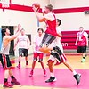 The Moriah boys' basketball team scrimmages at its practice Tuesday. The Vikings will face top-ranked New York Mills of Section III in the NYSPHSAA Class D semifinals today. <br><br>(BEN ROWE/P-R PHOTO)