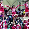 The Beekmantown Central School Eagles cheer squad shows the stuff that won them second place in Thursday's 2014 CVAC Cheerleading Competition, held at their home school. The group is coached by Amanda LaDuke.<br><br>(GABE DICKENS/P-R PHOTOS)
