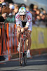 17 February 2008: Fabian Cancellara of Switzerland during the Prologue Stage of the Amgen Tour of California at Stanford University in Palo Alto, CA.