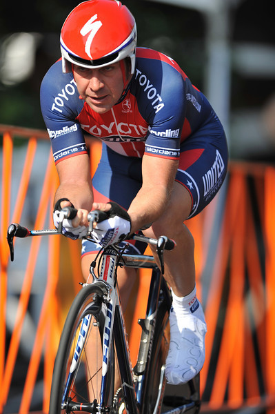 17 February 2008: Hendricus Vogels of Australia during the Prologue Stage of the Amgen Tour of California at Stanford University in Palo Alto, CA.