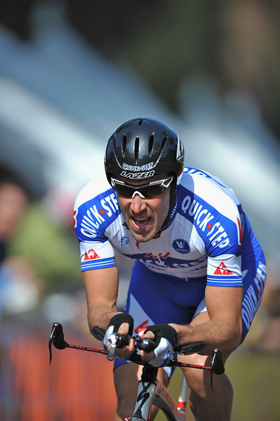 17 February 2008: Matteo Tosatto of Italy during the Prologue Stage of the Amgen Tour of California at Stanford University in Palo Alto, CA.