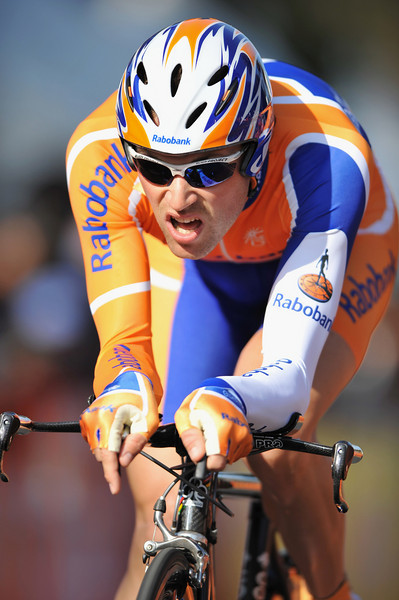 17 February 2008: Paul Martens of Germany during the Prologue Stage of the Amgen Tour of California at Stanford University in Palo Alto, CA.